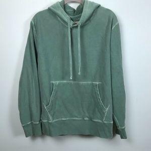 J. Crew Mens Large Vintage Wear Green Sweatshirt